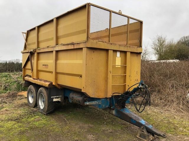 Richard Western 11T Silage Trailer 11T