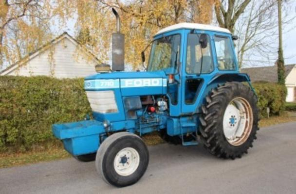 Ford 1983  7710 2WD TRACTOR