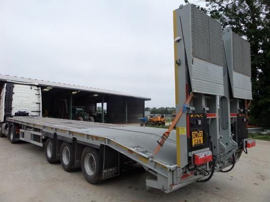 KING KP40 LOW LOADER TRAILER