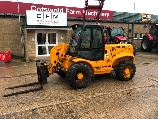 JCB 520-50 Farm Special loadall