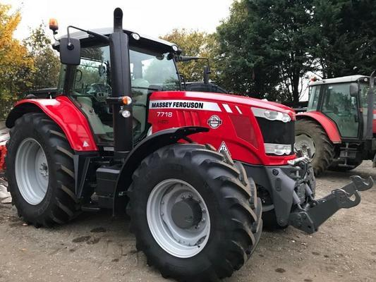 Other MA387439 - 2017 MF7718 EFD6 4WD Tractor