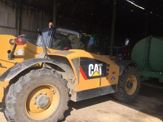 Caterpillar T805810A - 2012 Cat TH407 AGP+ Spec Telehandler