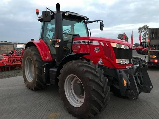 Other MA355625 - 2017 MF7718 EFDV 4WD Tractor