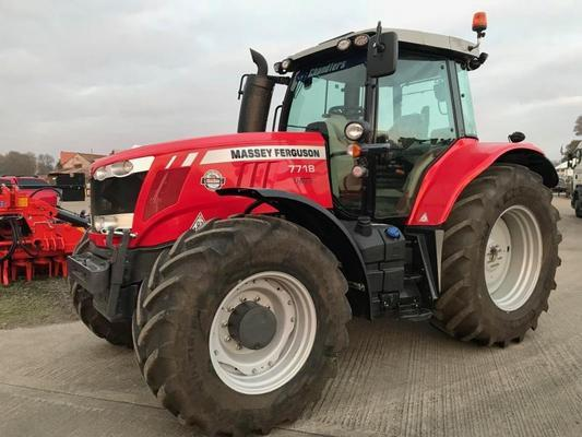 Other MA401859 - 2017 MF7718 EFD6 4WD Tractor