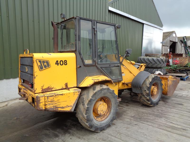 JCB 408 Articulated Forklift