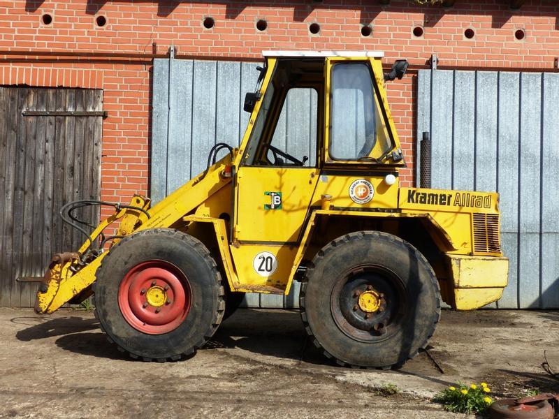 Ganz und zu Extrem Kramer 312 Wheel loader Used in 23826 Todesfelde, Germany (4509532 @IP_49