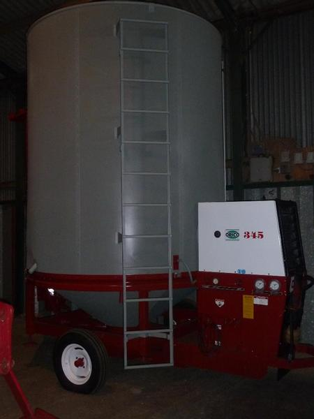 Other S/H OPICO 345XL, 9 TON GAS GRAIN DRIER