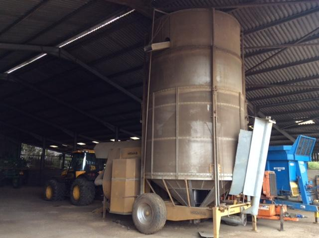 Other Mecmar SSI 25T Diesel Grain Dryer c/w PTO drive