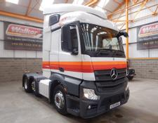 MERCEDES ACTROS 2545 EURO 5 STREAMSPACE 6 X 2 TRACTOR UNIT - 2013- AY13 NVU