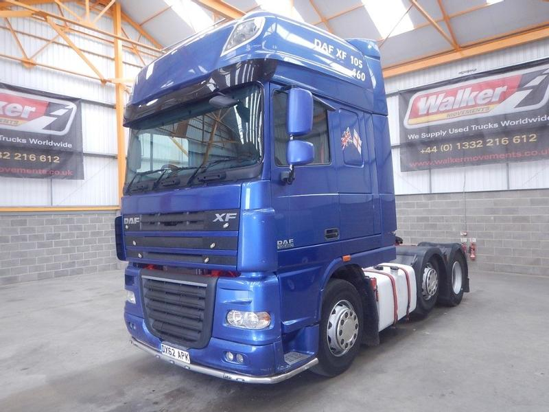 Daf XF105 460 SUPERSPACE EURO 5, 6 X 2 TRACTOR UNIT - 2012 - DX62 APK