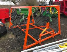 Sonstige Hackett 16ft Hydraulic Folding Chain Harrows