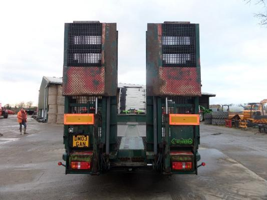 Other NOOTEBOOM TRI AXLE LOW LOADER TRAILER