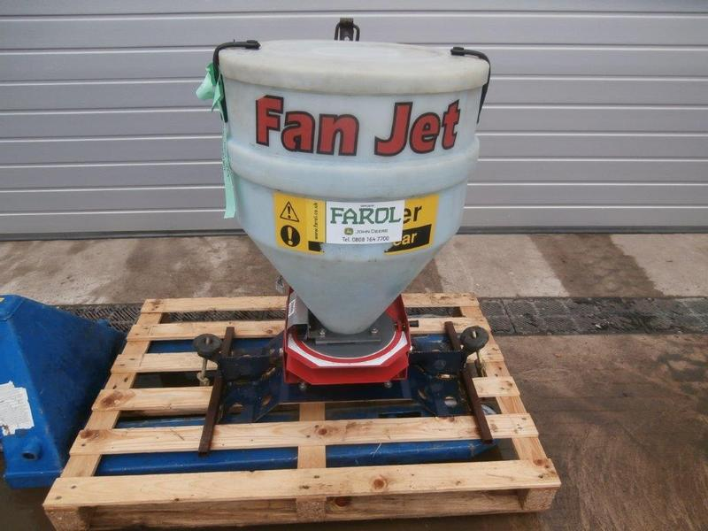 Stocks Fan Jet UTV Mounted Slug Pellet Broadcaster
