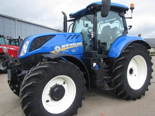 New Holland T7.210, 07/2017, 420 hrs