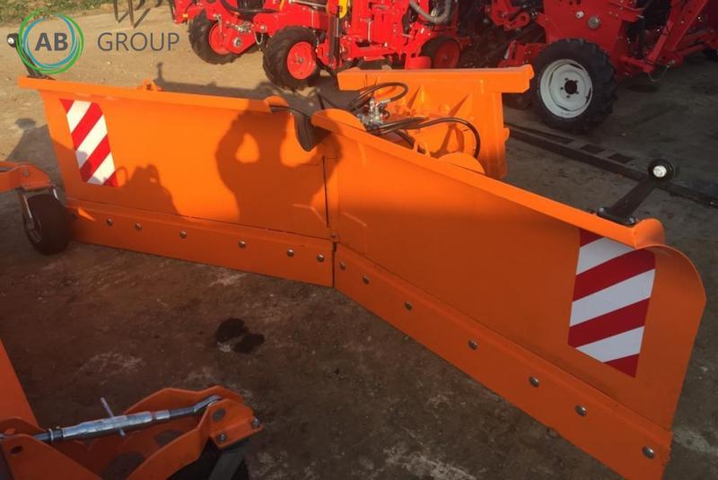 Kat 1 2 3 Vario Schneeschild V 200cm hydraulisch Winterdienst Schneeschieber
