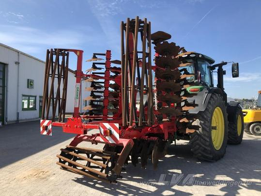 A disc harrow