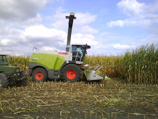 Claas Field Chopper
