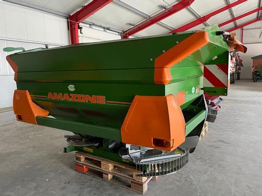 A used fertiliser spreader.