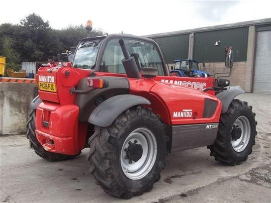 A used Manitou machine.